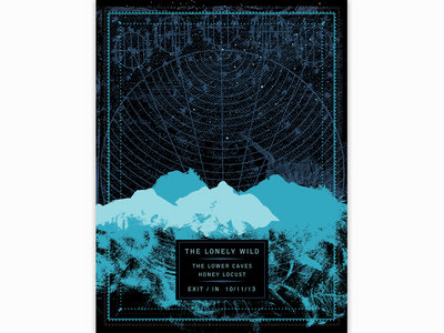 Limited-Edition Silkscreened Poster: The Lonely Wild at Exit/In main photo