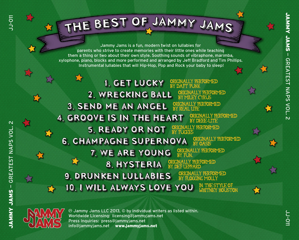 Get Lucky (Lullaby Rendition of Daft Punk) | Jammy Jams