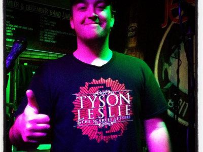 """Tyson Leslie & The Scarlet Letters"" T-Shirt main photo"