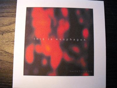 """AMOK022A - this is esophagus - """"Terra Firma E.P."""" CD main photo"""