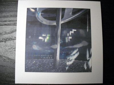 "AMOK036 - justin scott gray - ""in audible"" CD main photo"
