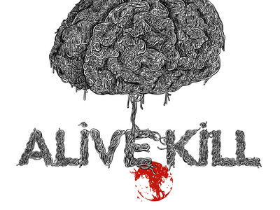 new t shirt alivekill designed by claude Autret main photo