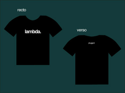 T-shirt LAMBDA main photo