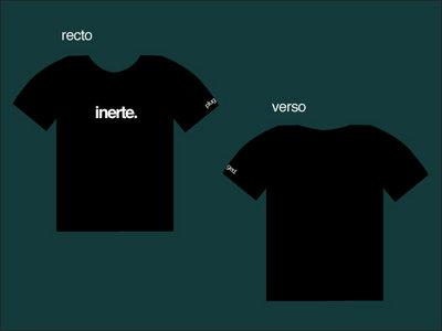 T-shirt INERTE main photo