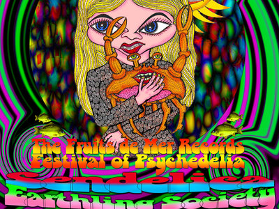 'CRABSTOCK' TICKET APRIL 26TH 2014 (FRUITS DE MER PSYCHEDELIC MINI FESTIVAL) CARDIGAN CELLAR BAR, WALES UK. LIMITED TICKET AVAILABILITY.... FIRST COME FIRST SERVED main photo