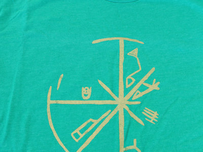 Limited Edition Seven Days T-Shirt (Zelda-Style Kelly Green with Gold Ink) main photo