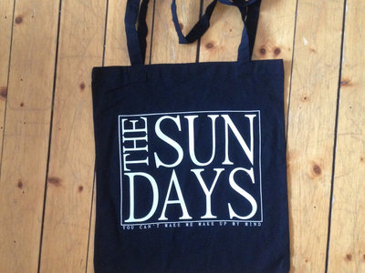 The Sun Days tote bag - black main photo