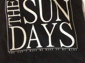 The Sun Days tote bag - black photo
