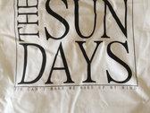 The sun days - tote bag white photo