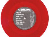 "Spring Heeled Jack 7"" red vinyl EP photo"