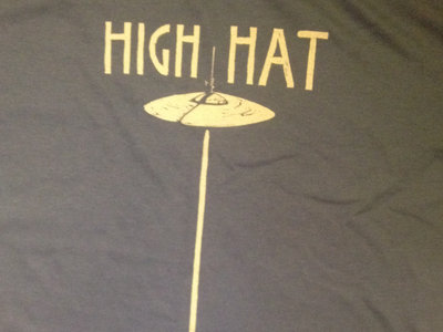 "MEN'S ""High Hat"" Tee Shirt - LAKE BLUE ONLY main photo"