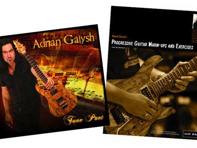 """Tone Poet"" download & ""Progressive Guitar Warm-ups & Exercises"" PDF download bundle main photo"