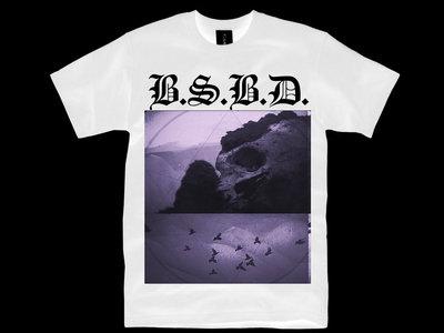 "BSBD ""GLACIAL SKULLS"" WHITE TEE main photo"