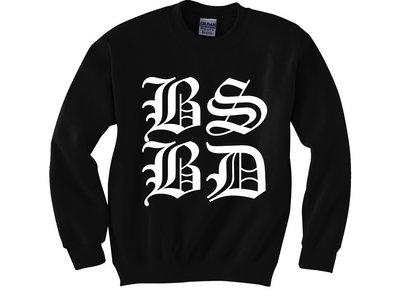 "BSBD ""BOX LOGO"" BLACK CREWNECK SWEATSHIRT main photo"