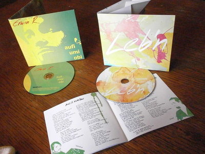 "2 CDs (""Leb'n"" und ""aufi umi obi"") main photo"