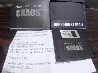 Master Toad - CHAOS EP Floppy Disk main photo