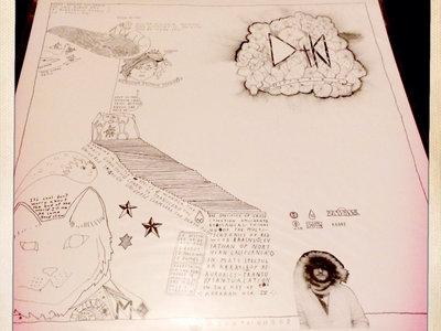 Mountainhood 'Death Pod' one-sided LP main photo