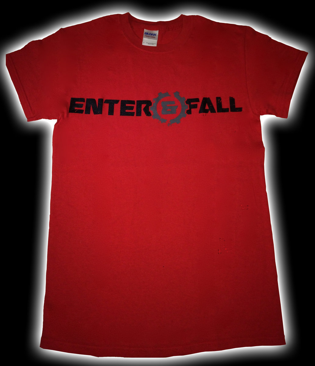 Enter And Fall T-Shirt (rot/red) for men | Enter And Fall