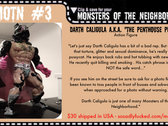 SSF Music Club - Monsters of the Neighborhood ACTION FIGURE #3 photo