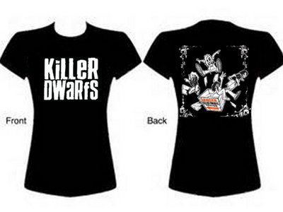 Ladies Killer Dwarfs Black TShirt Start @ One main photo