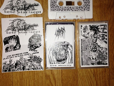 "SETE STAR SEPT ""live atrocity"" Tape main photo"