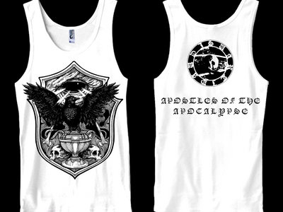 SVARTIDAUÐI - Apostles of the Apocalypse III tank-top / sleeveless main photo