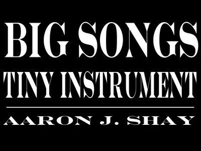 """BIG SONGS, TINY INSTRUMENT"" Sticker! main photo"