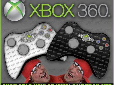 AJ Jordan The Crescendo Microsoft XBox 360 Controller Skins (2-Pack) main photo