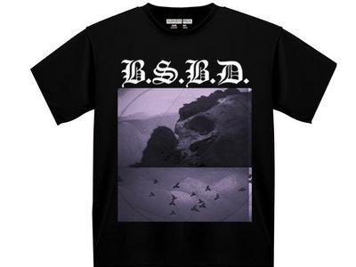 BSBD 'GLACIAL SKULLS' BLACK TEE main photo