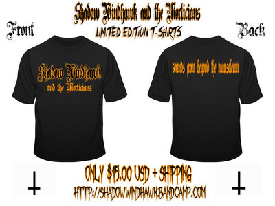 Sounds From Beyond the Mausoleum Limited Edition T-Shirt main photo
