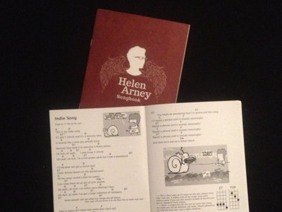 Helen Arney Songbook - words & chords for uke, guitar or piano main photo
