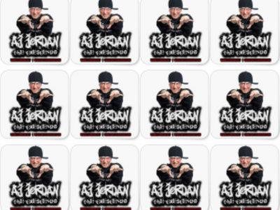 AJ Jordan The Crescendo Small Stickers (Pack Of 20) main photo
