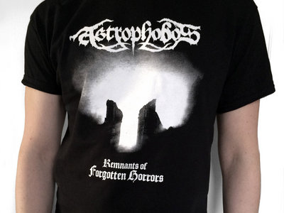 Astrophobos - Remnants of Forgotten Horrors t-shirt main photo