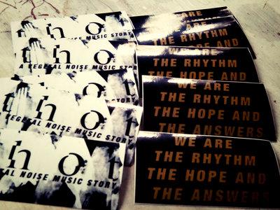 Rhythm.Hope.Answers Stickers main photo