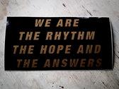 Rhythm.Hope.Answers Stickers photo