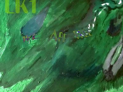 "Original 6""x6"" painting ""We Are Free"" main photo"
