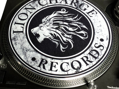 Lion Charge Records Slipmats main photo