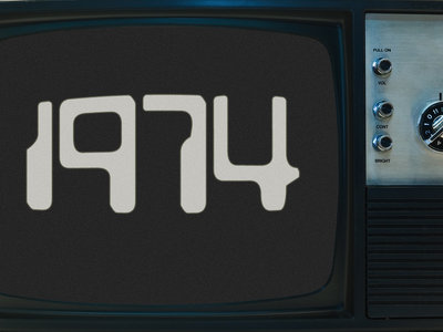 1974 Retro TV Pin main photo