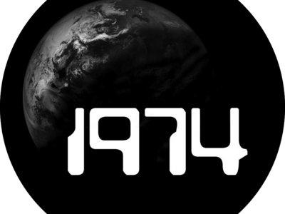 1974 Round Earth Logo Vinyl Sticker main photo
