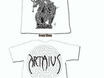 White T-Shirt -Artaius main photo