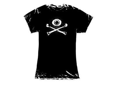 'Eye & Crossbones' - girly shirt main photo