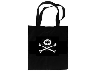 'Eye & Crossbones' cotton bag main photo
