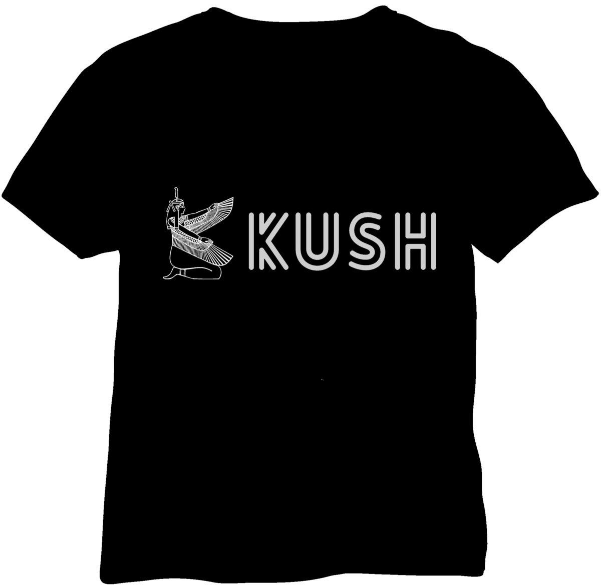 Shirt design black - Kush T Shirt Design 1 Main Photo