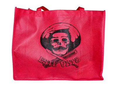 LIMITED Tote/Shopping Bag - Red/Black main photo