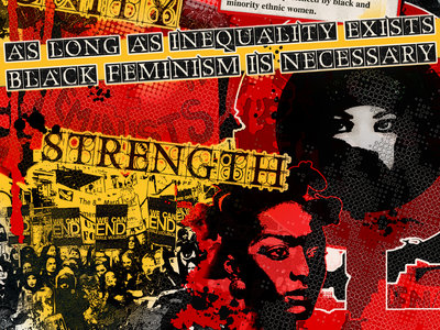Black Feminism Series: Resistance (A3 Red Poster), Equality (A3 Purple Poster) and Respect (A3 Yellow Poster) main photo