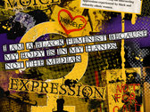 Black Feminism Series: Resistance (A3 Red Poster), Equality (A3 Purple Poster) and Respect (A3 Yellow Poster) photo