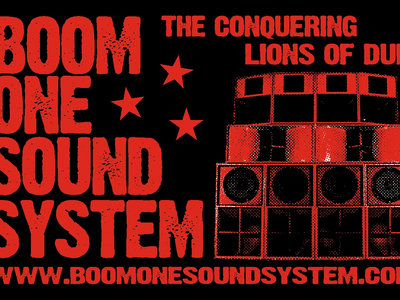 Sticker - Boom One Sound System main photo