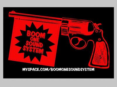 Sticker - Boom One Sound System (Dub Pistol) main photo