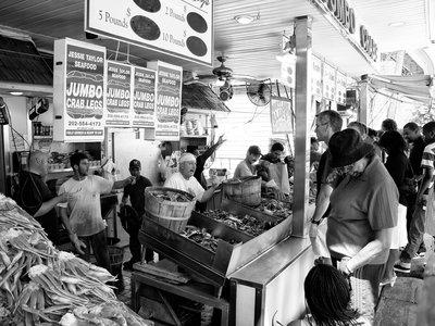 Framed Print - Maine Avenue Fish Market main photo