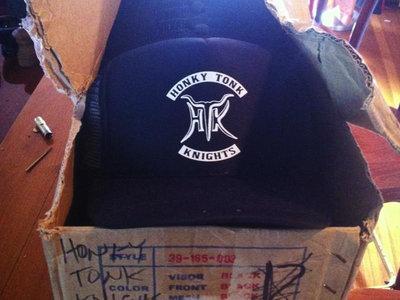 HTK Trucker hat - Black with white logo main photo